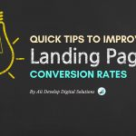 Improve the landing page conversion rate